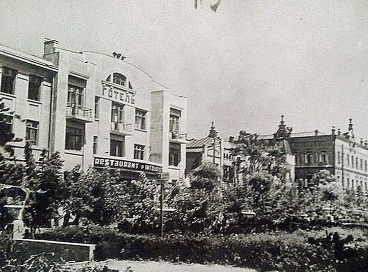 Історія Готель Театральний Запоріжжя